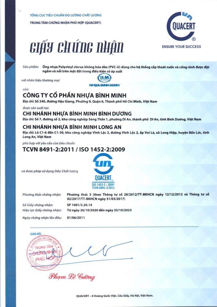 Chung Nhan Hop Chuan Hop Quy