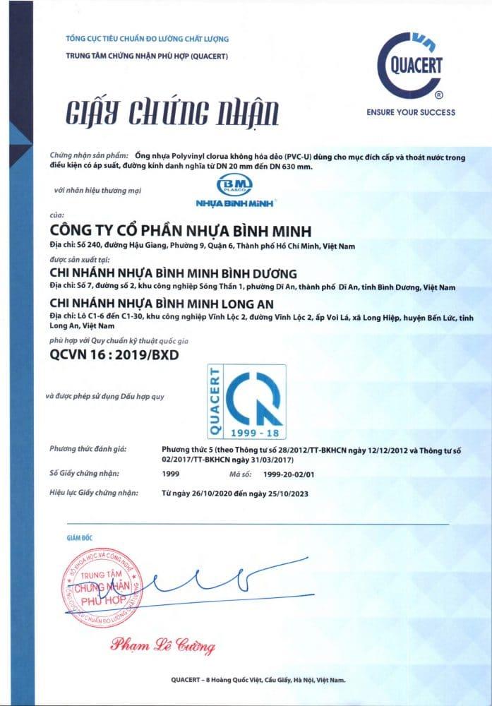 Chung Nhan Hop Quy